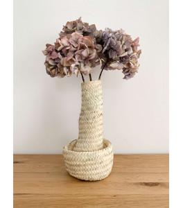 Vase en osier